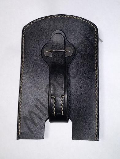 Чехол кожаный, открытый, на малые саперные ножницы (реплика)