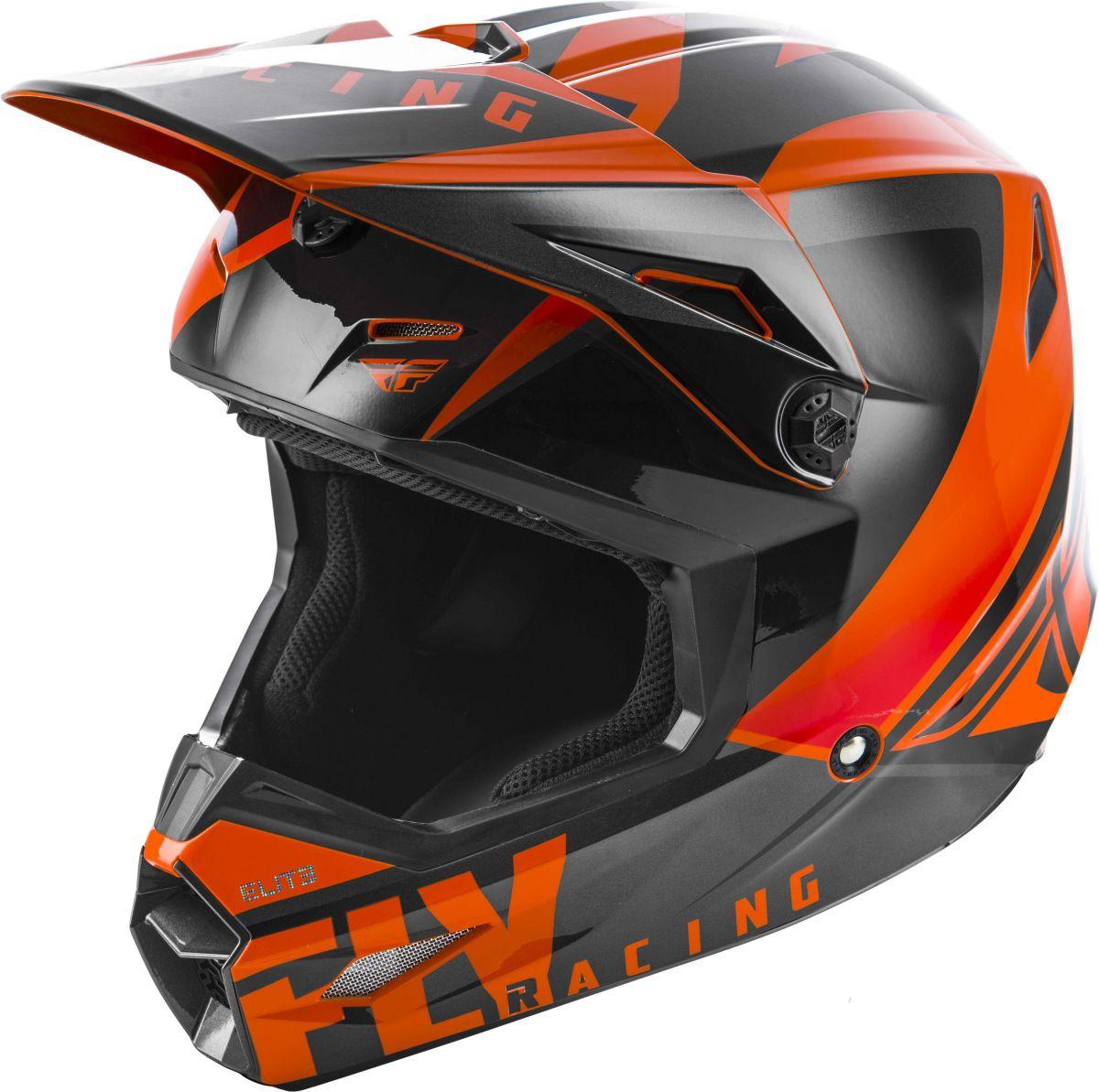 Fly - 2019 Elite Vigilant Orange/Black шлем, оранжево-черный