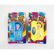 Детский Телефон с трубкой, (свет, музыка).