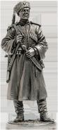 Красноармеец кубанских казачьих кавалерийских частей РККА. 1939-43 гг. СССР
