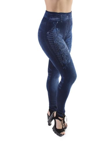 Джеггинсы для женщины теплые с мехом Ласточка LS020