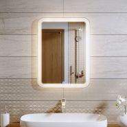Зеркало с LED подсветкой Alavann Vanda Lux 70x80