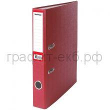 Файл А4 5см Berlingo бордовый/карман АМ4615