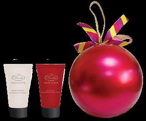 Парфюмерно-косметический подарочный набор Liss Kroully Skin juice Шар (Крем для рук увлажняющий 75 мл + Крем для рук и ногтей 75 мл)
