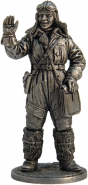 Лётчик-штурман, военно-воздушные силы, 1941-45 гг. СССР (олово)