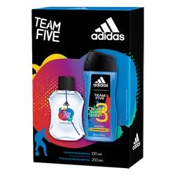 Adidas Ice Dive Подарочный набор мужской Гель для душа 250 мл + Лосьон после бритья 100 мл