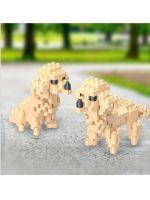 Конструктор Wisehawk & LNO Игрушечный пудель 176 деталей NO. D4 Toy poodle Gift Series