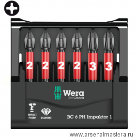 Набор WERA Mini-Check Impaktor 1 WE-057691