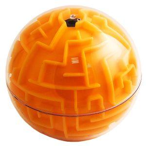 Головоломка  Сфера  оранжевая (10 см)