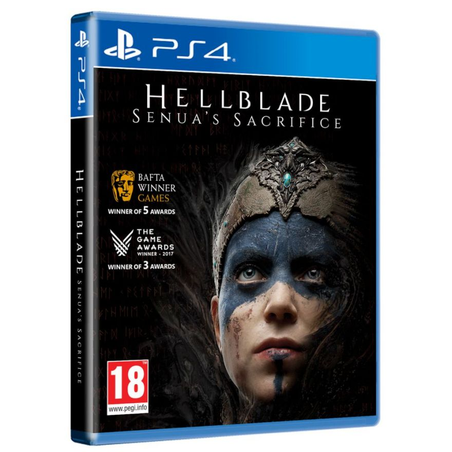 Игра Hellblade: Senua's Sacrifice (PS4)