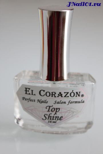 El Corazon Top Shine (Верхнее покрытие - кристальный блеск) №410, 16 мл