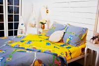 Фланелевое постельное белье Совы