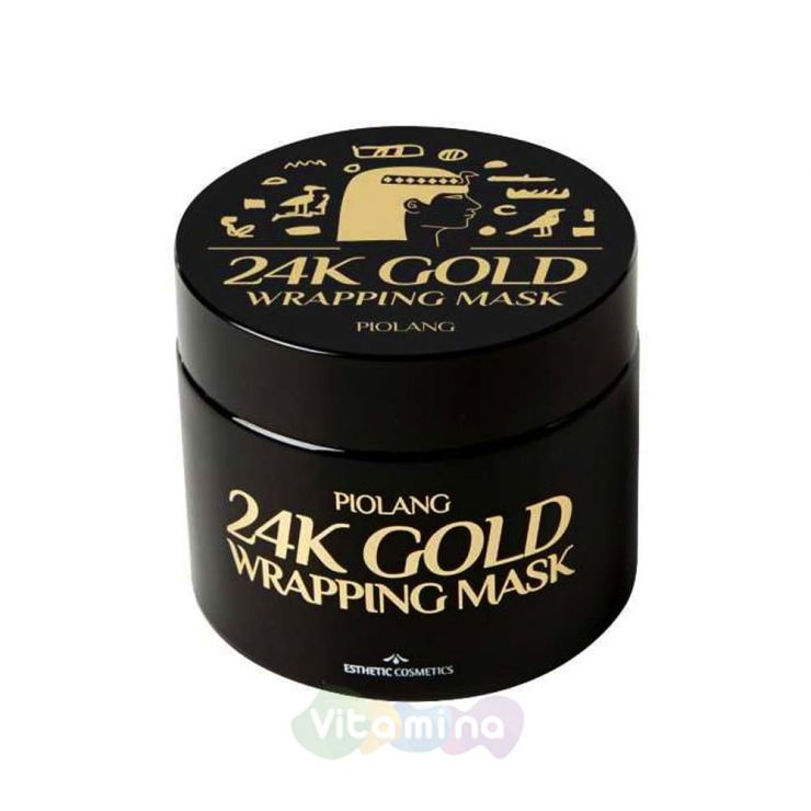 Esthetic House Омолаживающая маска для лица с 24к золотом Piolang 24K Gold Wrapping Mask