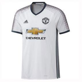 Игровая футболка клуба adidas Manchester United Football Club Third Jersey белая