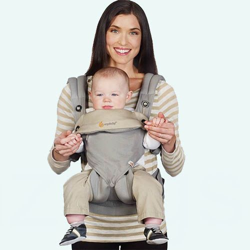 Эрго рюкзак Ergobaby 360 Cool Air baby carrier.