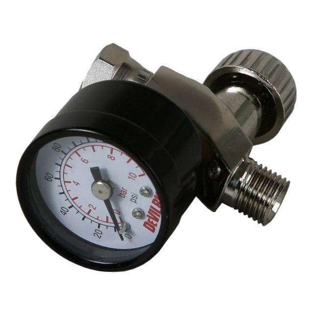 DeVILBISS Регулятор давления воздуха, с манометром