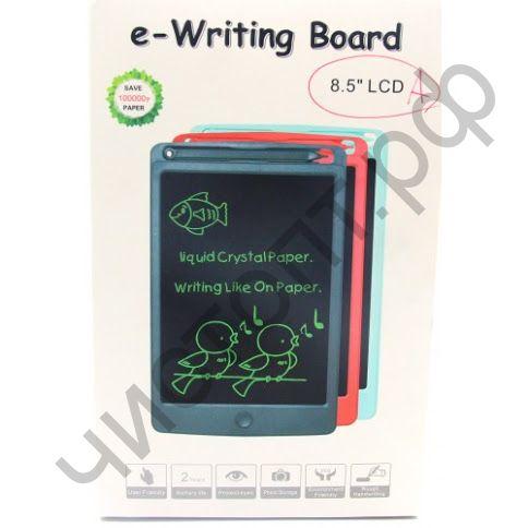 """Планшет для рисования  8,5"""", пластик, LCD, ручка экономия бумаги до 100.000 листов"""