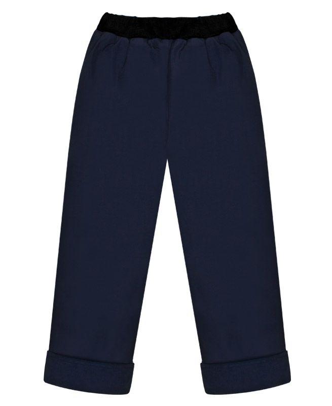 Темно-синие брюки для мальчика