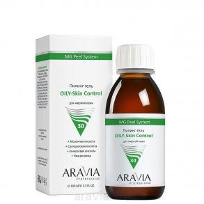 Пилинг-гель OILY-Skin Control, 100 мл, ARAVIA Professional. Цена по запросу:продается только косметологам.