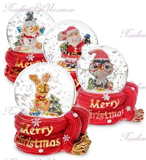 """Шар со снегом """"Счастливого Рождества"""""""