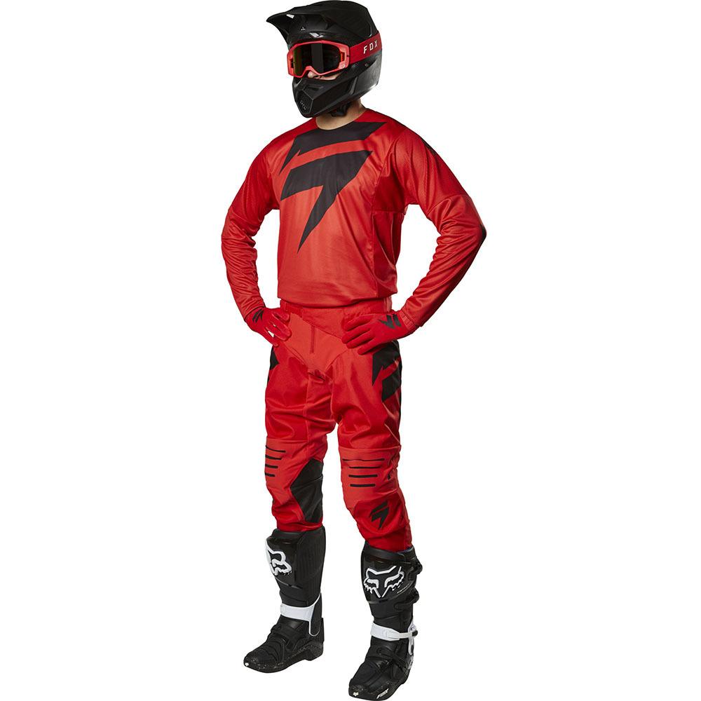 Shift - 2019 3Lack Label Mainline Red комплект джерси и штаны, красный