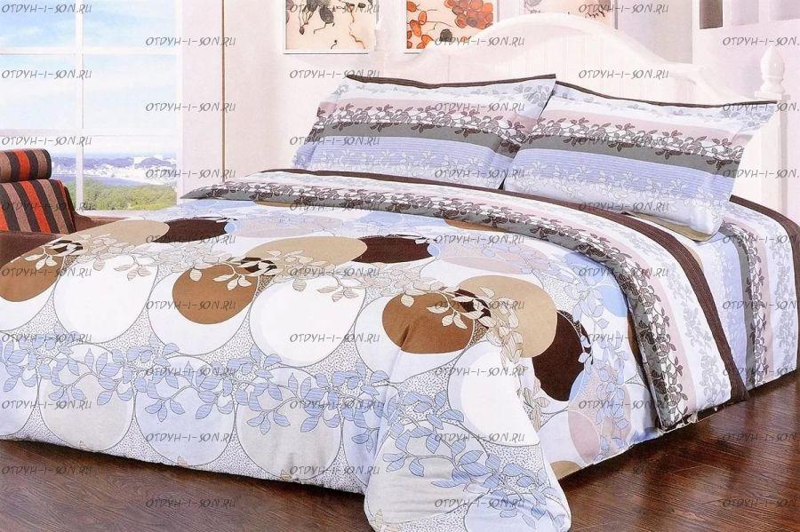 Комплект постельного белья 2хспальное, цвет в ассортименте Байкал