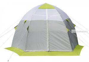 Палатка зимняя Лотос 3с оснащенная стеклокомпозитным каркасом