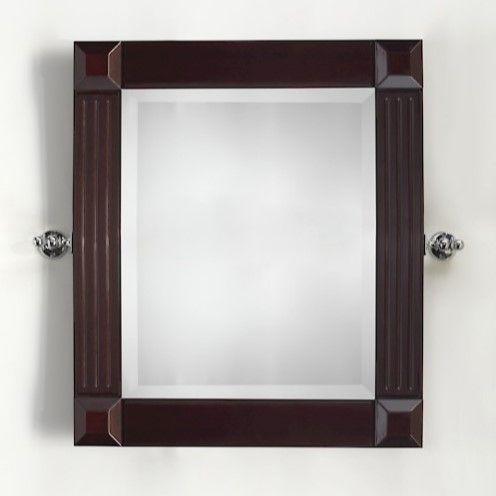 Зеркало в ванную Devon&Devon Bizet mahogany 80х75 ФОТО