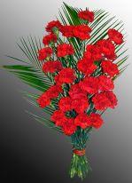 Траурные букеты из живых цветов