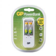 Зарядное устройство GP PowerBank и 2 аккумулятора по 650mAh