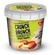 Crunch Brunch Арахисовая паста хрустящая 1000 г