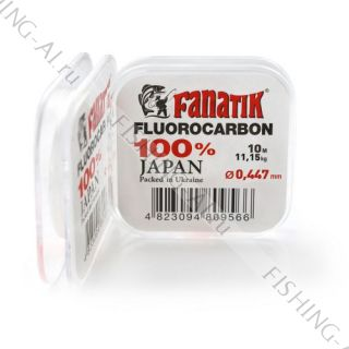 Флюорокарбон FANATIK 10 m 0.447 mm