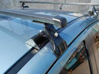 Универсальный багажник на крышу Муравей Д-1, на Mitsubishi Lancer 10, стальные прямоугольные дуги