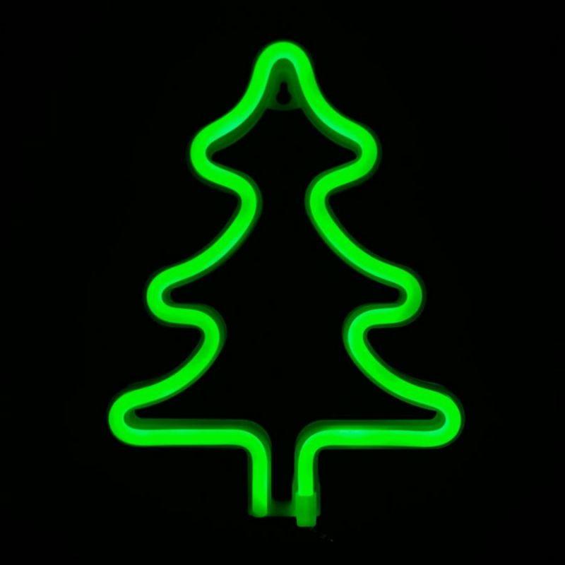 Неоновая лампа Новогодняя ёлка