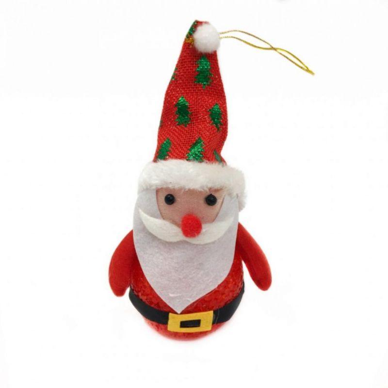 Светящаяся фигурка Деда Мороза, высота 17 см