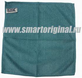 Smart Microfiber Салфетка ребристая 32 х 31 см бирюза