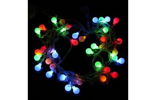 Электрическая светодиодная гирлянда ШАРИКИ