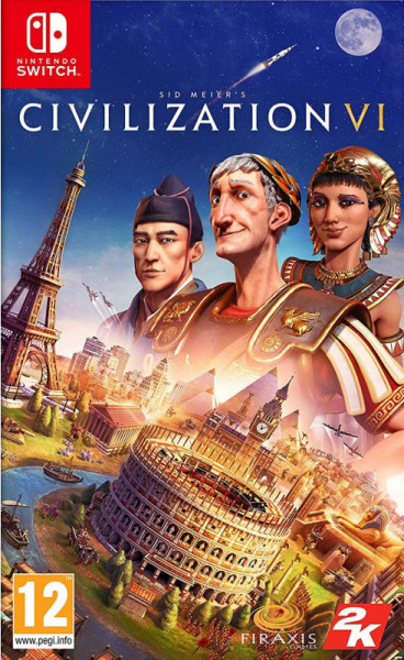 Игра Sid Meier's Civilization VI (Nintendo Switch)