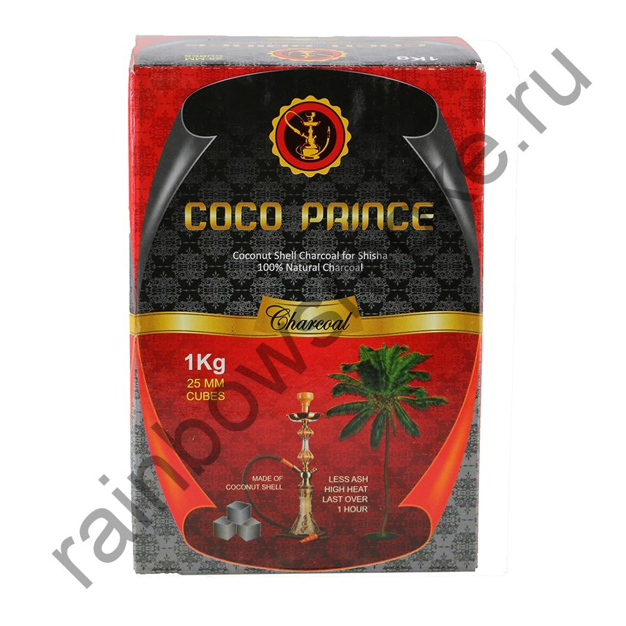 Уголь кокосовый для кальяна Coco Prince (72шт)
