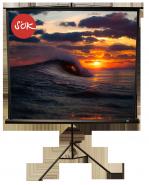 Экран напольный SCPST-180x180BLCK
