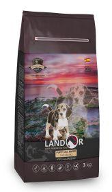 Ландор для щенков всех пород от 1 до 18 месяцев утка с рисом (LANDOR PUPPY)