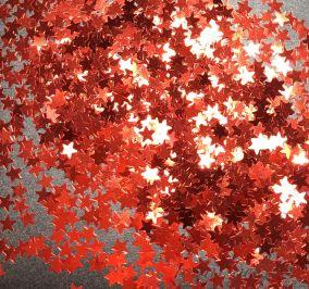 Конфетти звездочки 3mm Star B0301(India Red)