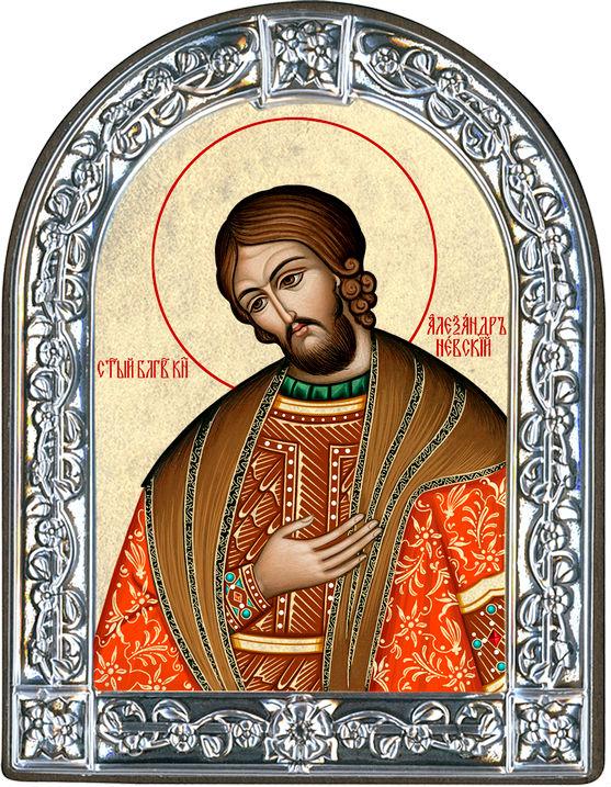Икона Святой благоверный князь Александр Невский (Греция)