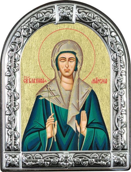 Икона Святая блаженная Матрона Московская (Греция)