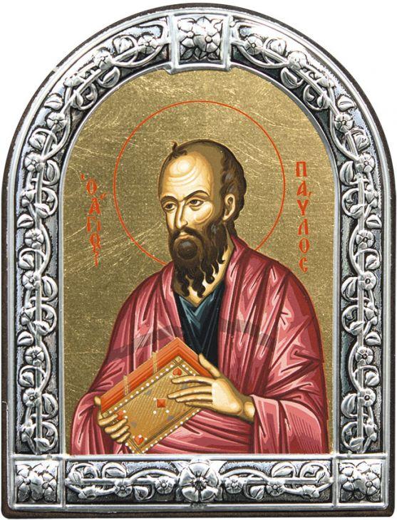 Икона Апостол Павел (Греция, 21х16  см.)