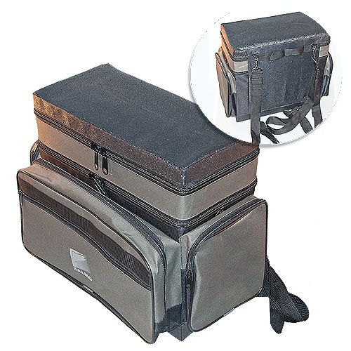 Ящик зимний рюкзак рыболов. зим. пенопл. 2-х ярус. H-2LUX