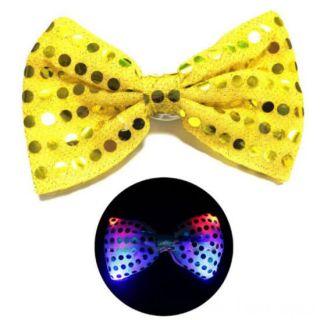 Светящаяся карнавальная бабочка, Жёлтый