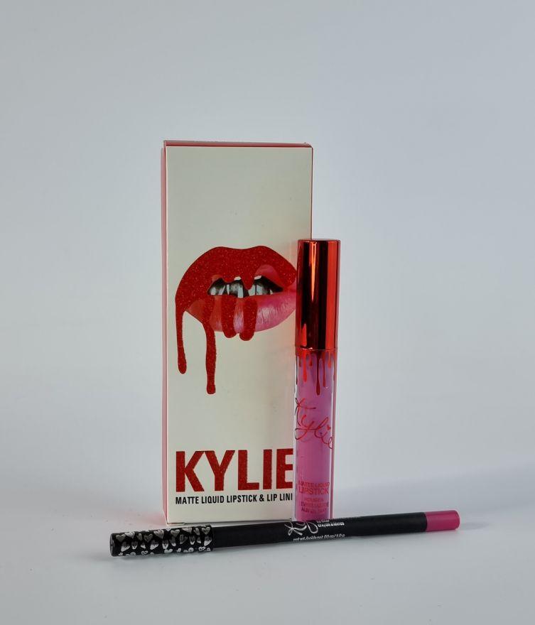 Матовая помада+карандаш Kylie LIPGLOSS(H)