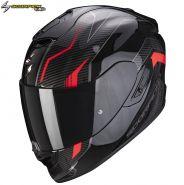 Шлем Scorpion EXO-1400 Air Fortuna, Черно-красный