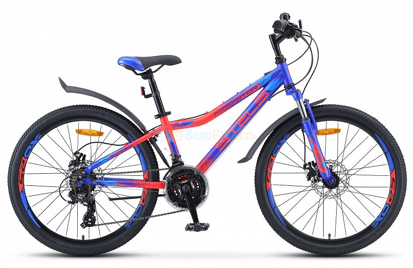 Велосипед подростковый Stels Navigator 410 MD 24 21-sp V010 (2021)